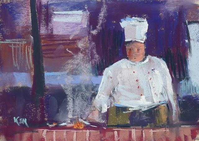 """A Week in Croatia: The Food"" original fine art by Karen Margulis"