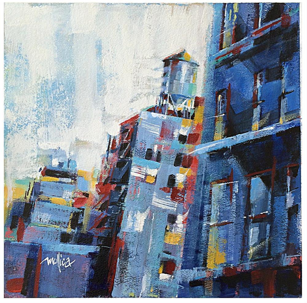 """""""Chelsea Watertower"""" original fine art by Patti Mollica"""