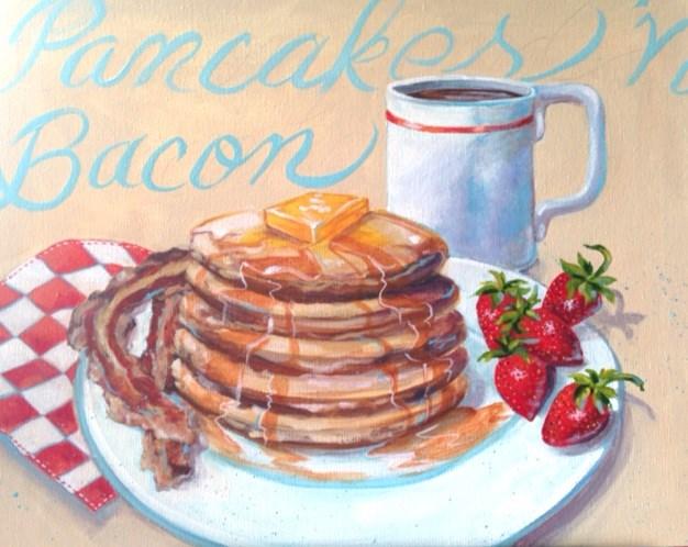 """Breakfast"" original fine art by Margie Whittington"