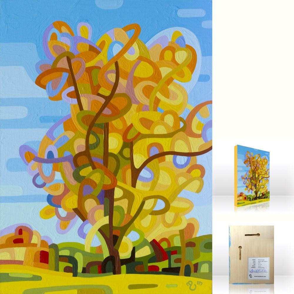 """Landscape Study #82"" original fine art by Mandy Budan"