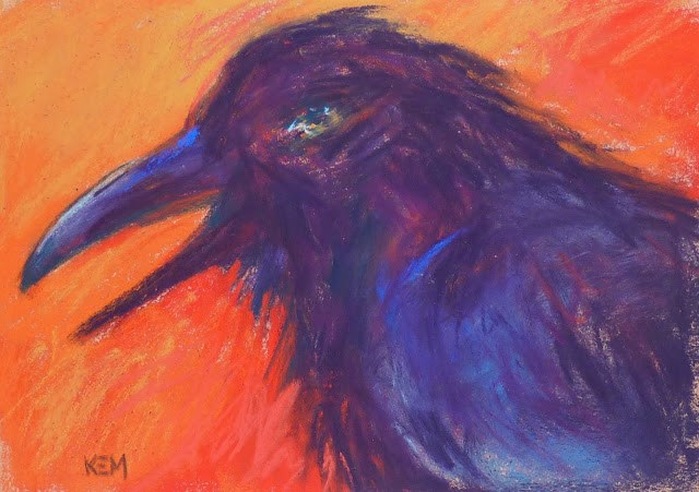 """""""How to Clean up a Pastel Mess"""" original fine art by Karen Margulis"""