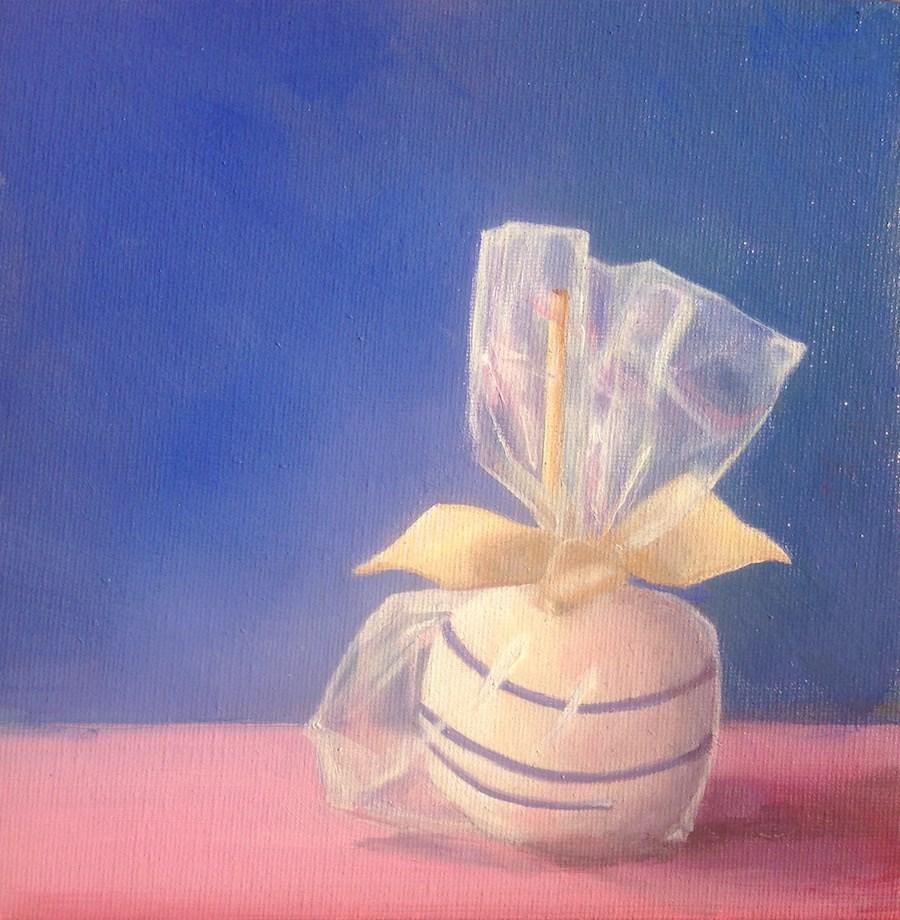 """""""The Wedding Apple"""" original fine art by Karen Stitt"""