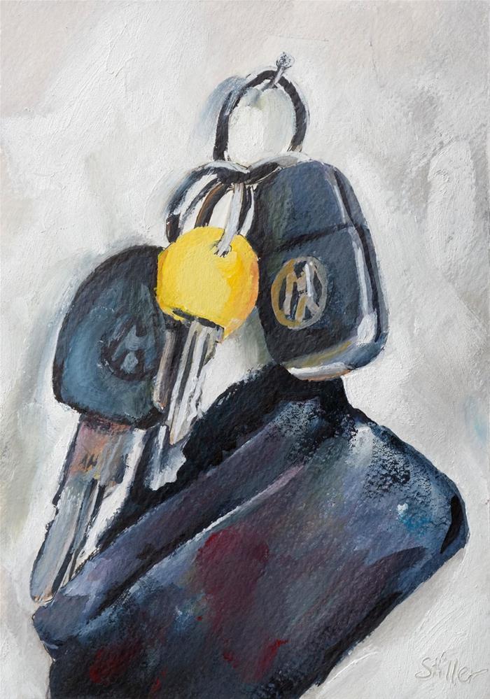 """""""3147 Key Moments"""" original fine art by Dietmar Stiller"""