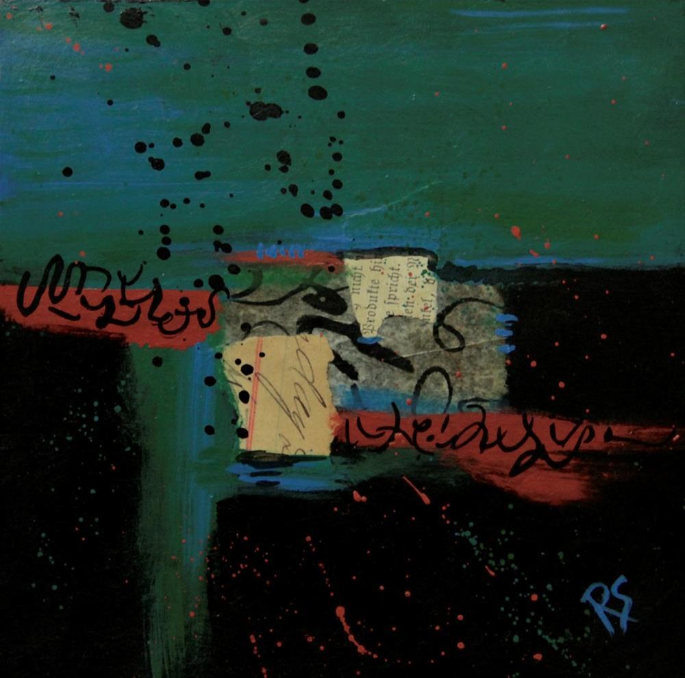 """Sedimentary Thoughts"" original fine art by Roberta Schmidt"