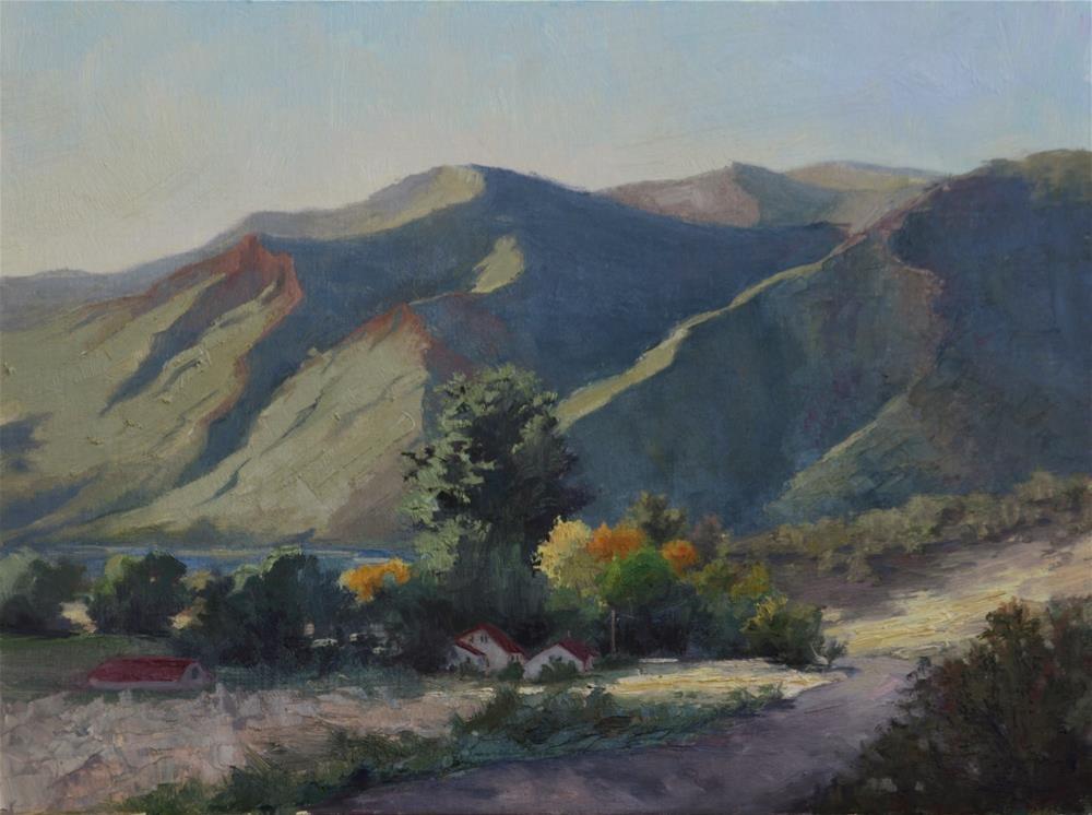 """West of Glenwood"" original fine art by Sheila Marie"