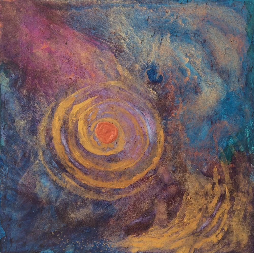 """""""Gyre"""" original fine art by Susan Medyn"""
