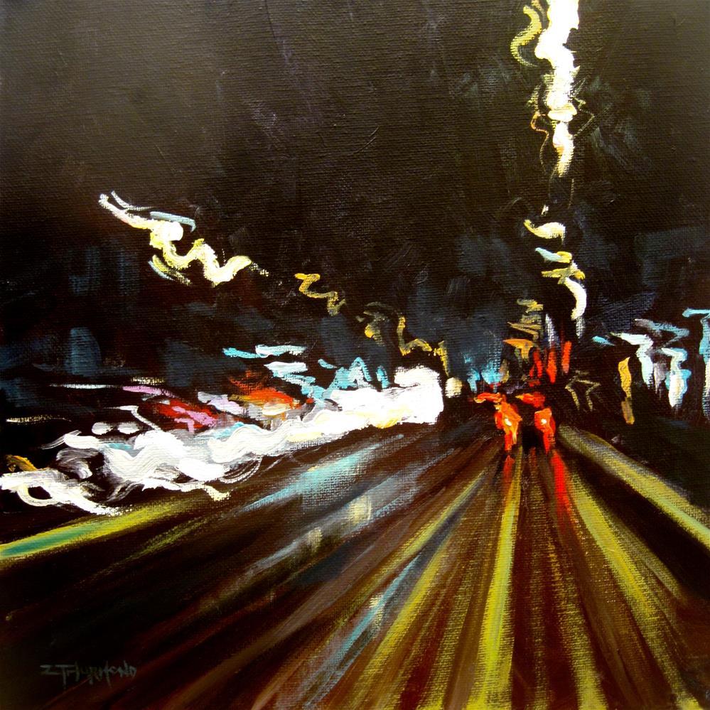 """Outbound Connector"" original fine art by Zack Thurmond"