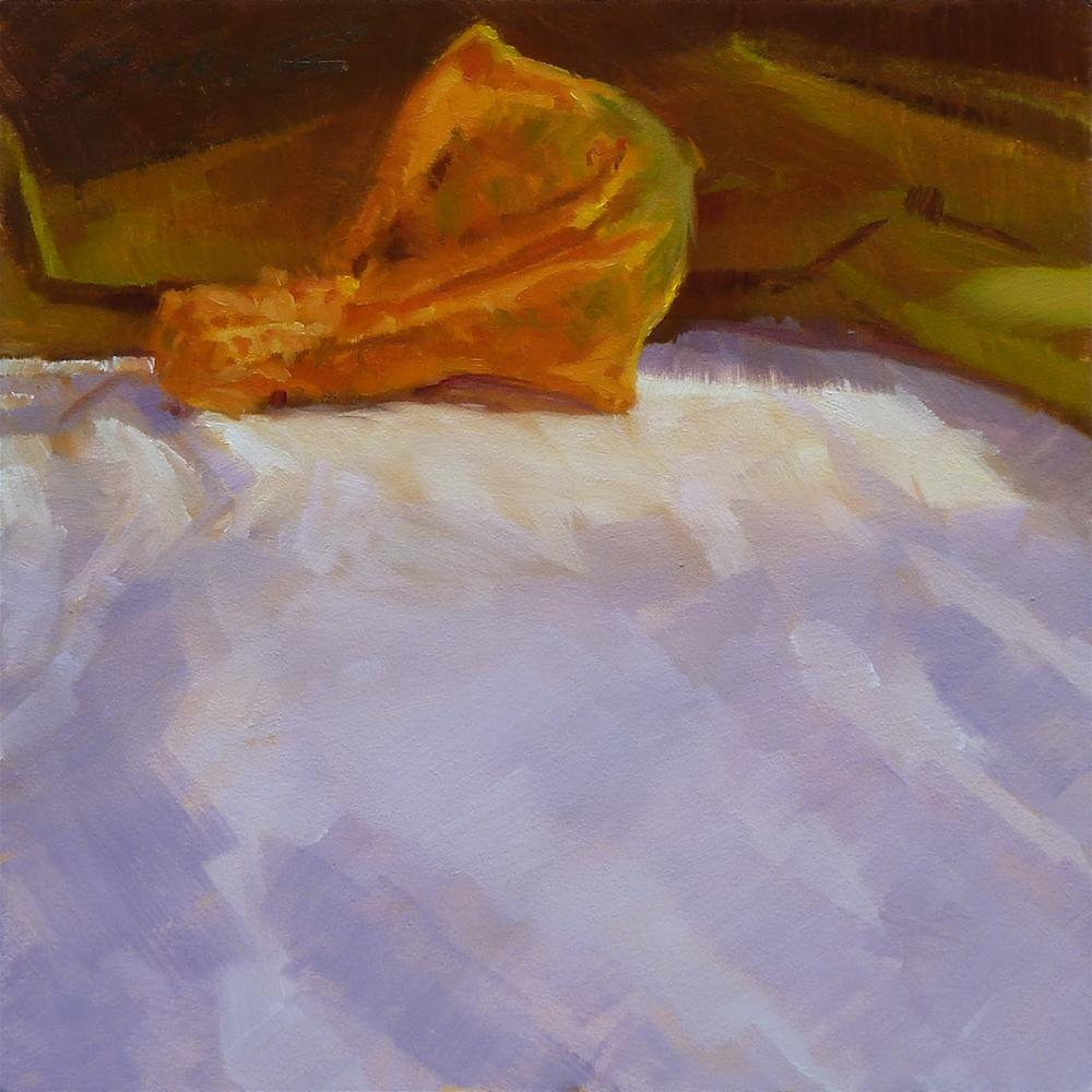 """""""Orange Winged Gourd"""" original fine art by Ron Ferkol"""