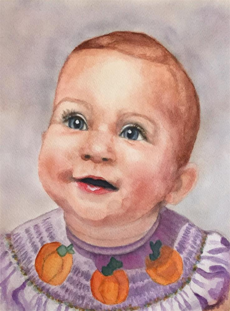 """Avery"" original fine art by Melissa Gresham"