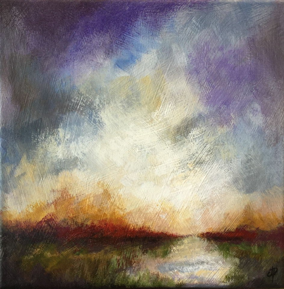 """The Heath"" original fine art by Jane Palmer"