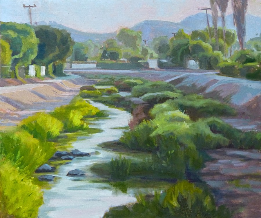 """Wendy Wash"" original fine art by Anette Power"
