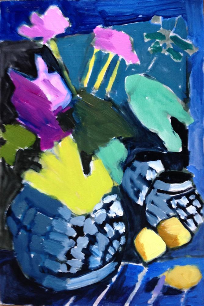 """""""Bringing Them Back"""" original fine art by Pamela Hoffmeister"""