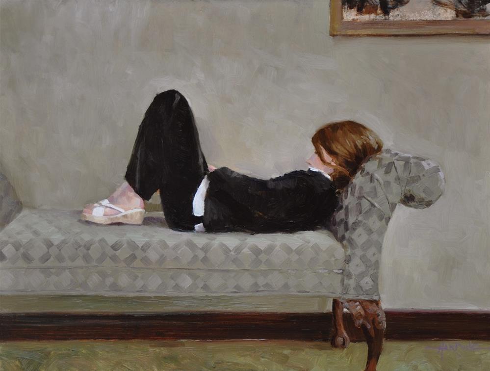 """Natalie"" original fine art by Scott Harding"