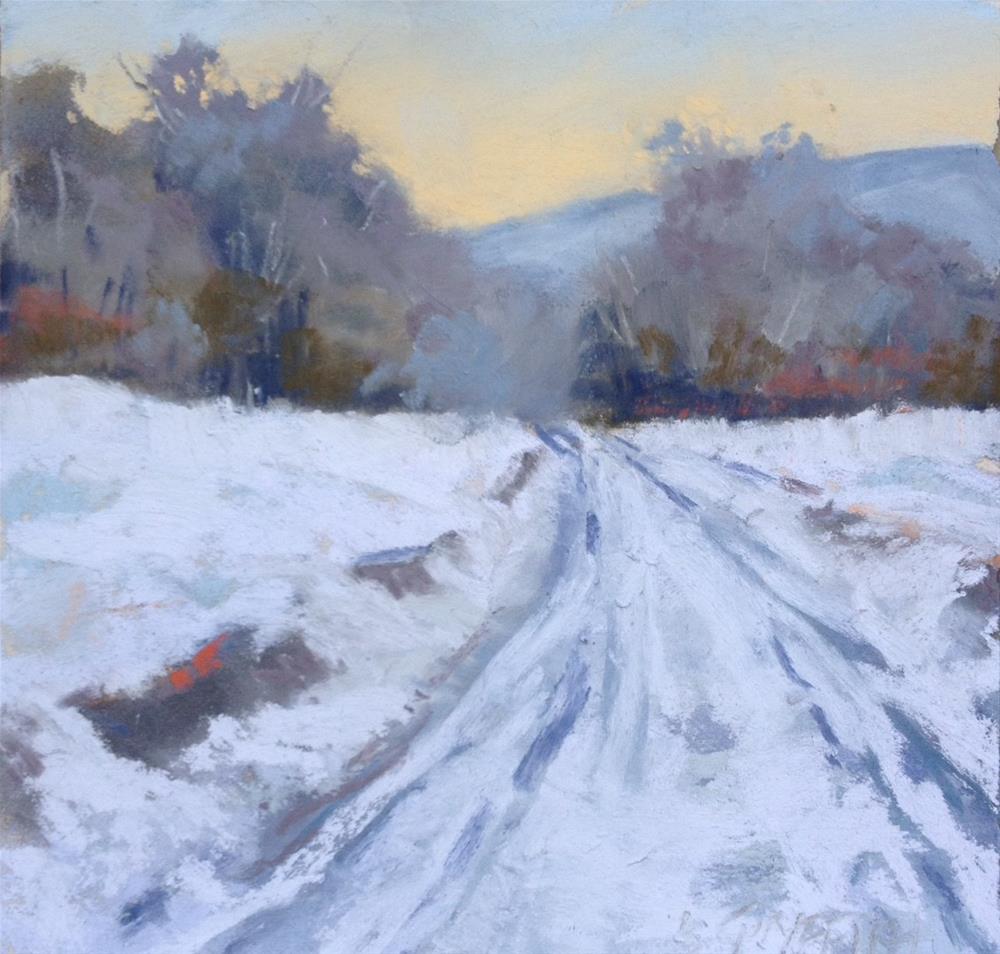 """Snow Bound"" original fine art by Bonnie Griffith"