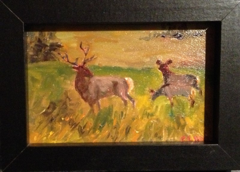 """""""Just Family"""" original fine art by Claudia L Brookes"""