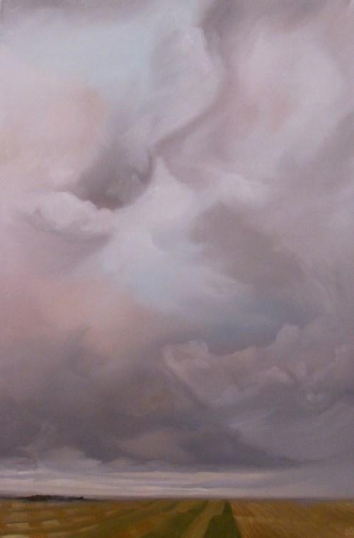 """East of Town"" original fine art by ~ces~ Christine E. S. Code"