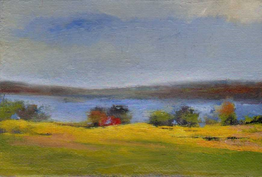"""river"" original fine art by Mark DeBak"