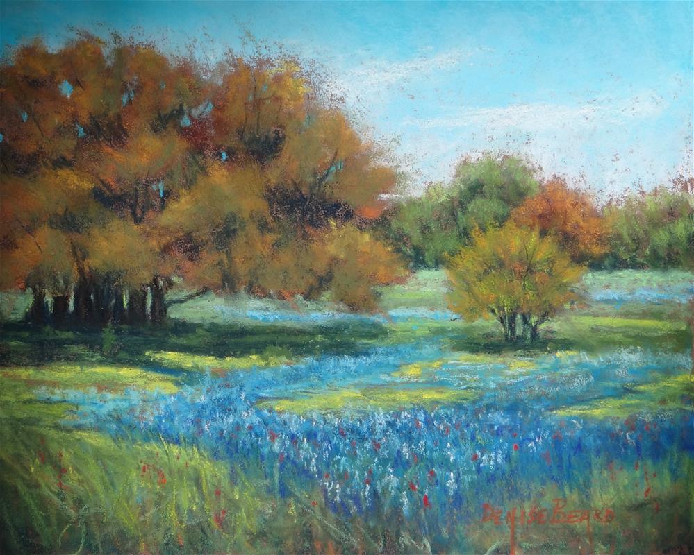 """Hill Country Spring"" original fine art by Denise Beard"