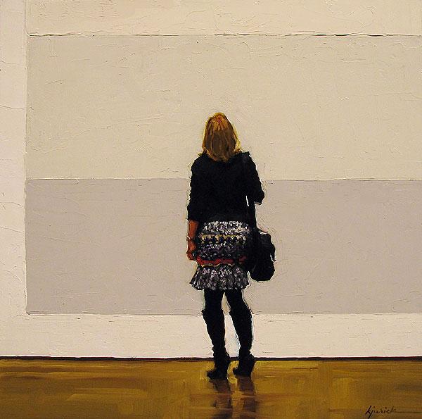 """Blank Stare"" original fine art by Karin Jurick"
