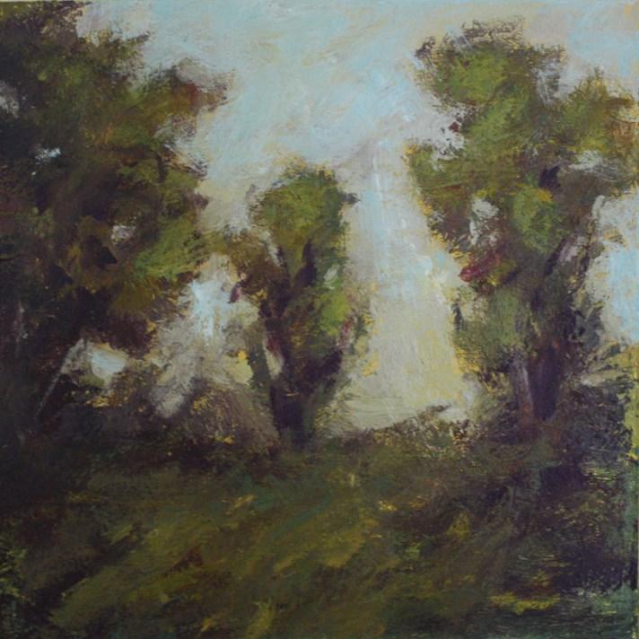 """""""Passing Landscape"""" original fine art by Shannon Bauer"""