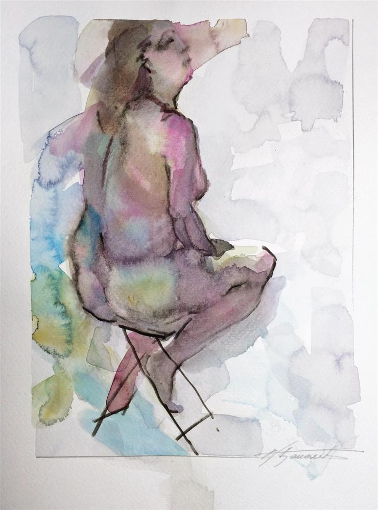 """Life Drawing 9"" original fine art by Nicoletta Baumeister"