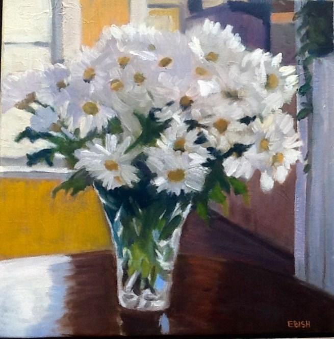 """Of All The Daisies"" original fine art by Elizabeth Bish"