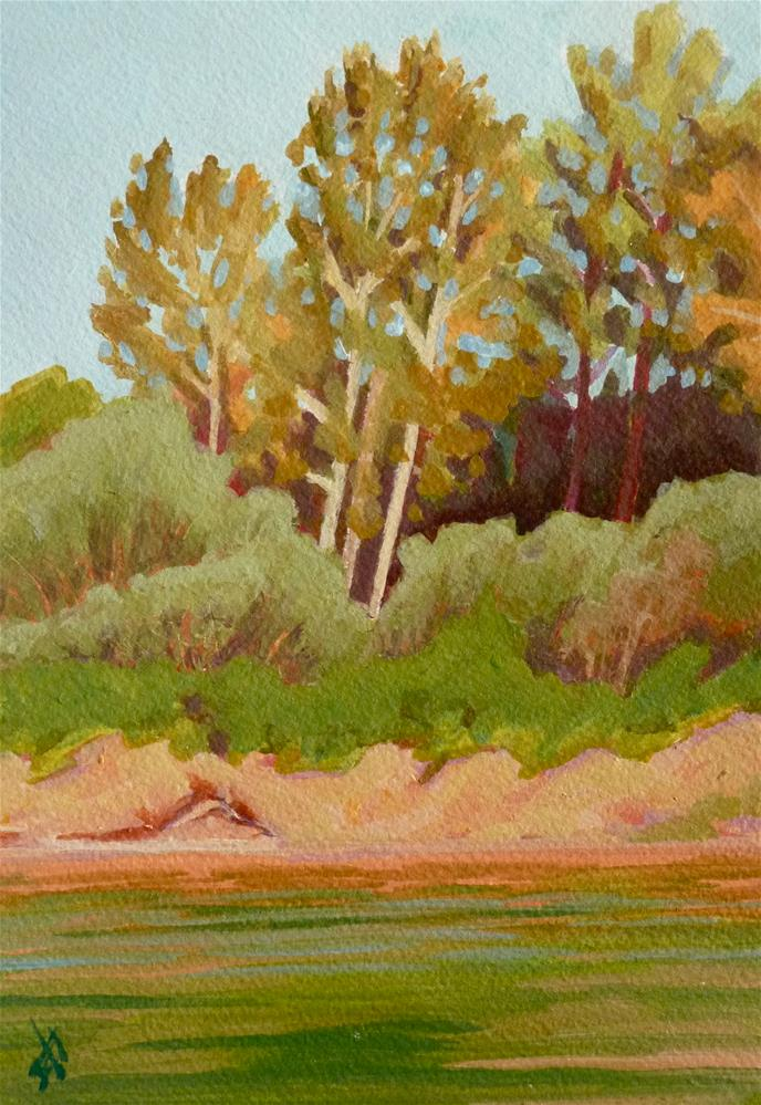 """Heron Rookery"" original fine art by Mark Allison"
