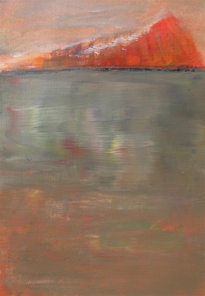 """Glimmer"" original fine art by Alina Frent"