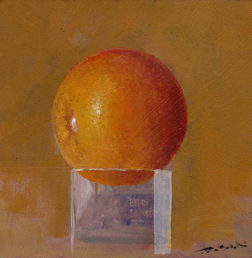 """orange"" original fine art by Mark DeBak"