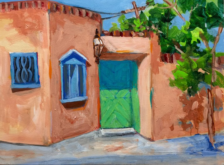 """Santa Fe #3"" original fine art by Suzy 'Pal' Powell"