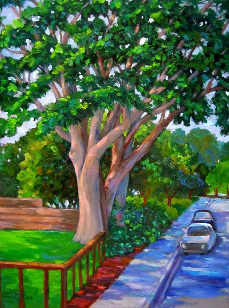 """""""Trees of Heaven - Again!"""" original fine art by Patricia Musgrave"""