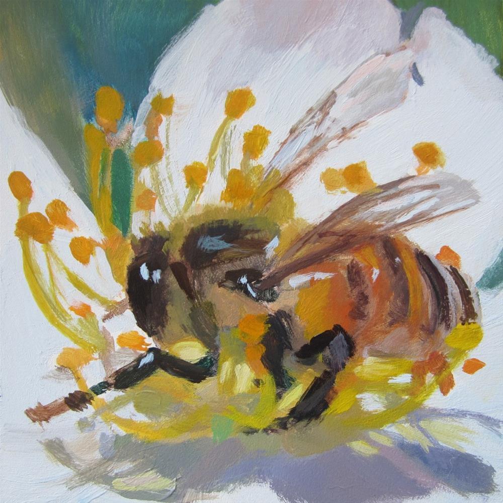 """The Bee"" original fine art by Kaethe Bealer"