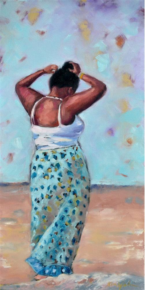 """""""Zahaira"""" original fine art by Karen Weber"""