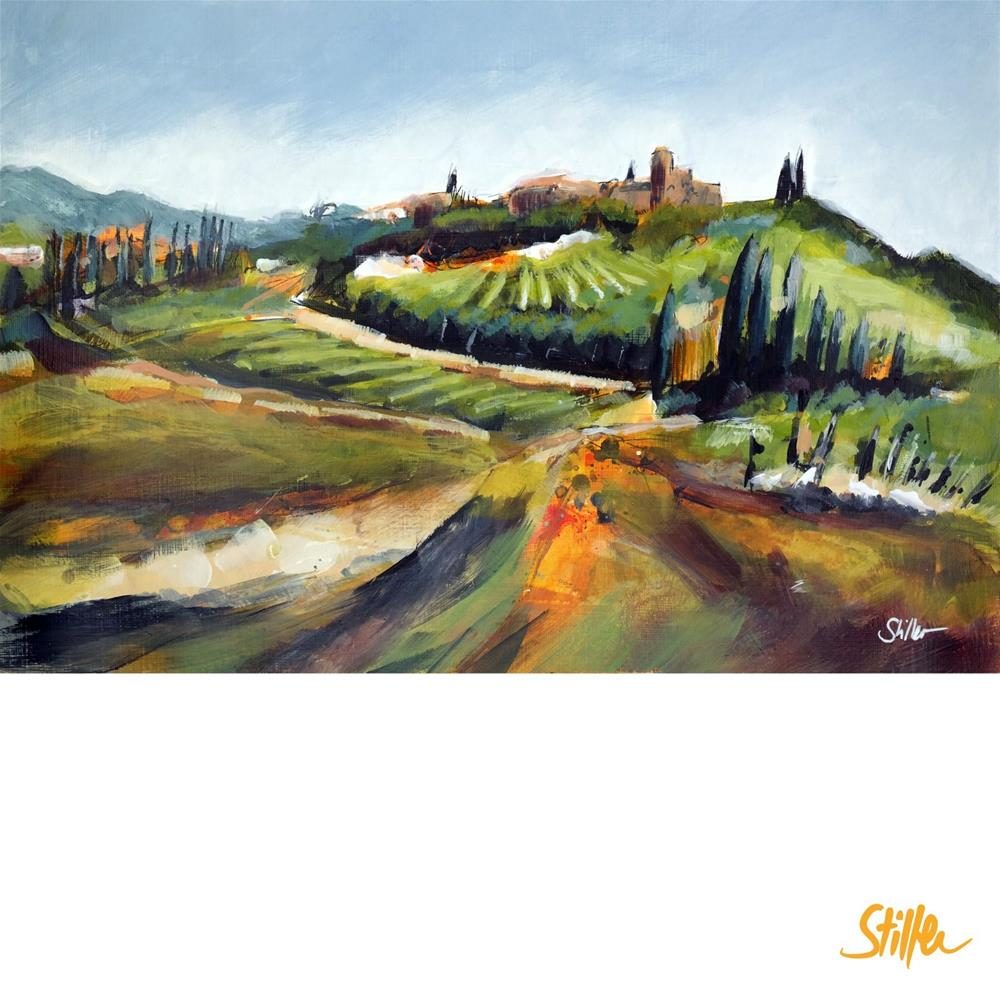 """3502 Tuscany-lala"" original fine art by Dietmar Stiller"
