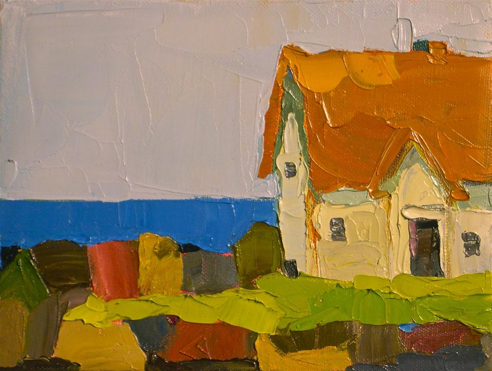 """Sea View"" original fine art by Donna Walker"