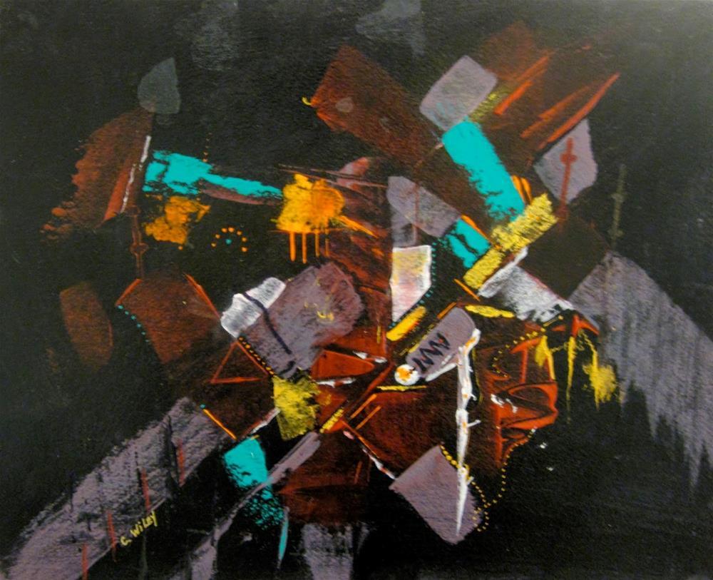 """Transformer"" original fine art by Carol Wiley"