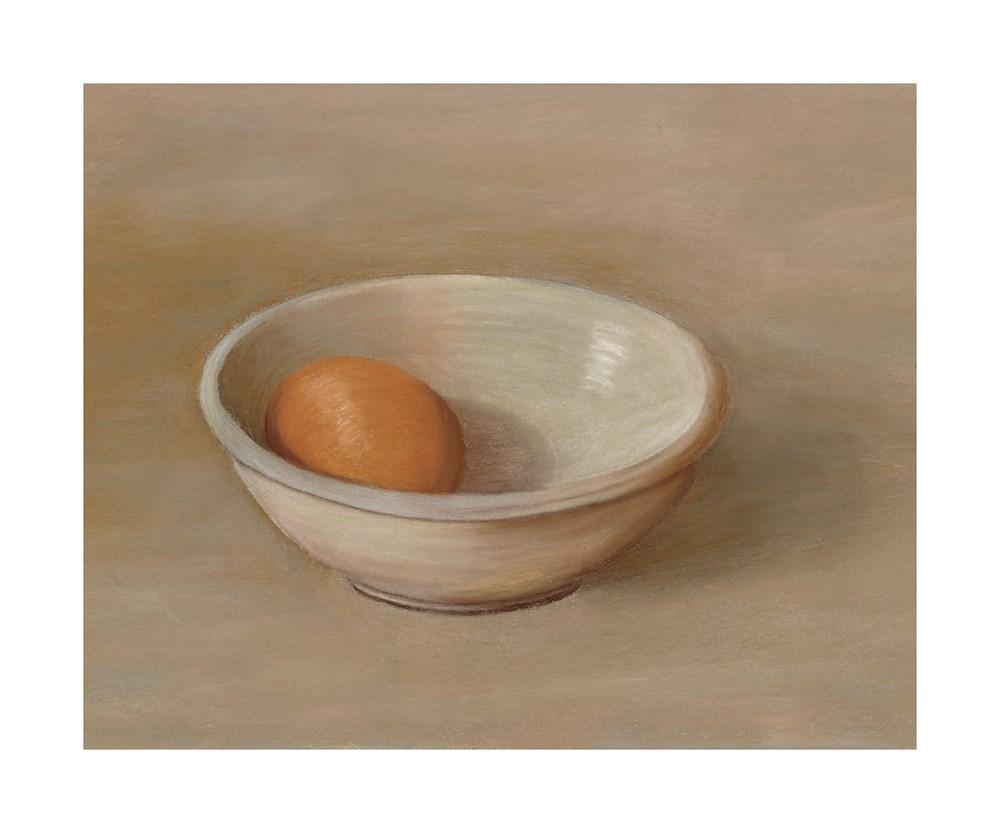 """Egg in Bowl"" original fine art by Susan Fern"