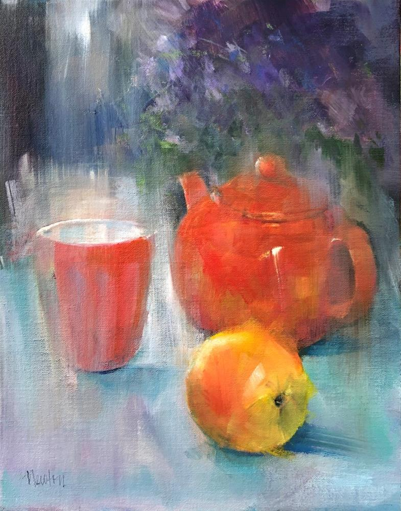 """Orange "" original fine art by Barbara Benedetti Newton"