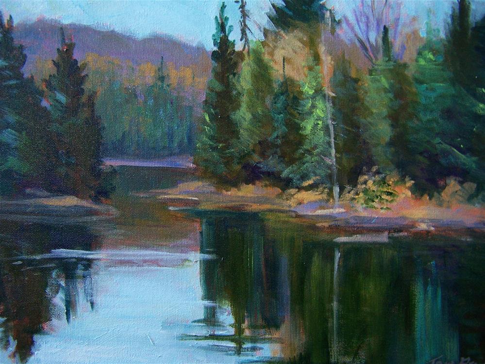 """""""Still Waters"""" original fine art by Joan Reive"""