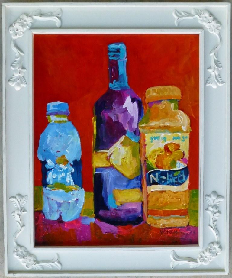 """Naked Juice 11017"" original fine art by Nancy Standlee"