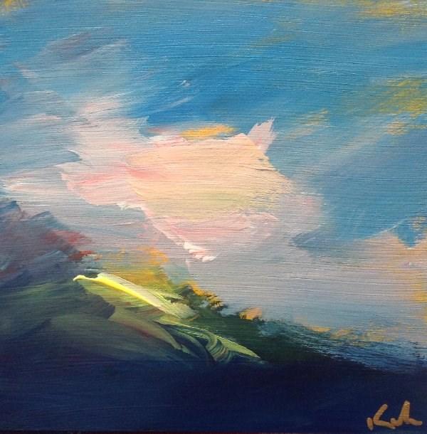 """Tracing the Moment"" original fine art by David Kuhn"