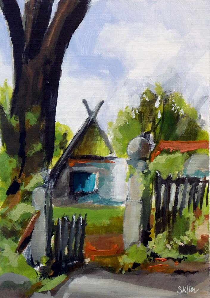 """2088 House Number Eight"" original fine art by Dietmar Stiller"