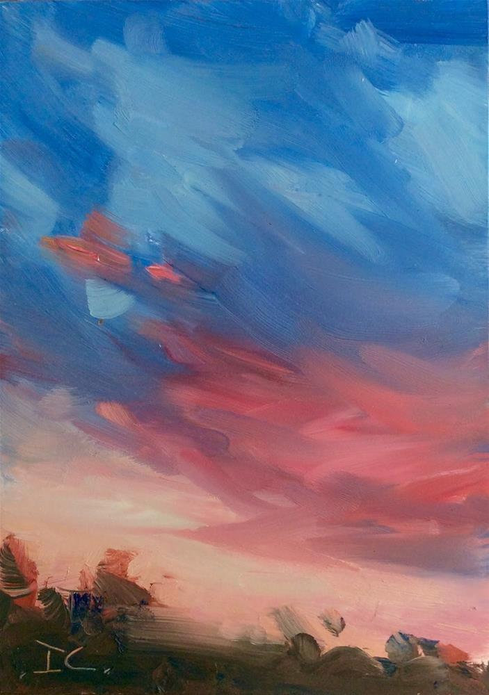 """BREAKING SKY"" original fine art by Doug Carter"