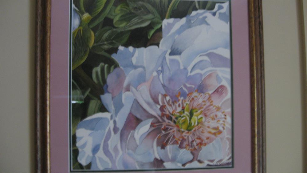 """Peony"" original fine art by Lisa Darrow"