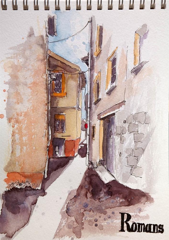 """""""1600 Sunday Sketches 15"""" original fine art by Dietmar Stiller"""