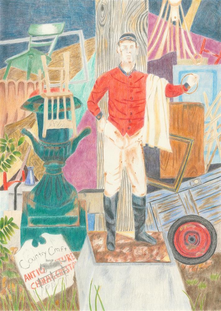 """Lost in Millwood"" original fine art by Arlene Crafton"