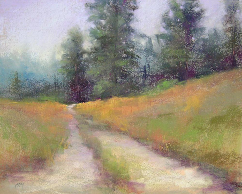 """New England Morning"" original fine art by Karen Margulis"