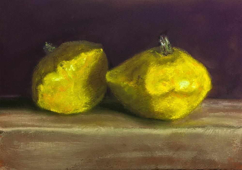 """""""Two Patty's"""" original fine art by Cristine Kossow"""