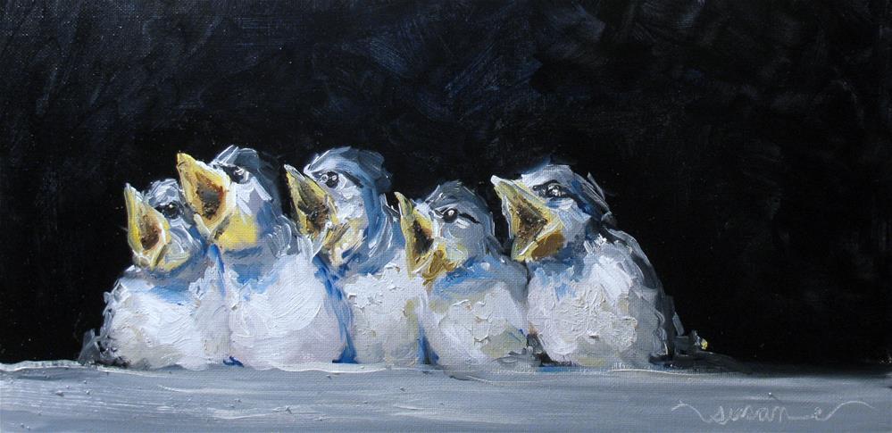 """Ode to Joy"" original fine art by Susan Elizabeth Jones"