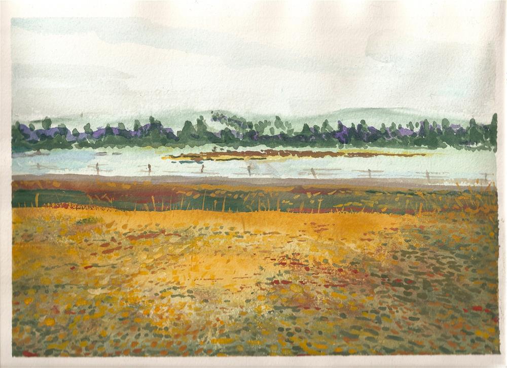 """Lake Durant - Adirondack Park"" original fine art by Jean Krueger"